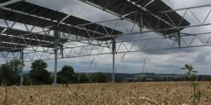Agro-Photovoltaik-Anlage